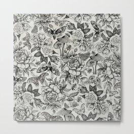 Botanical Pattern II Metal Print
