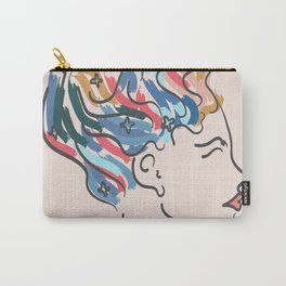 Woman on fire Carry-All Pouch