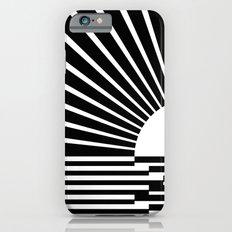 White rays iPhone 6s Slim Case