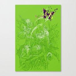 Hidden Chameleon Canvas Print