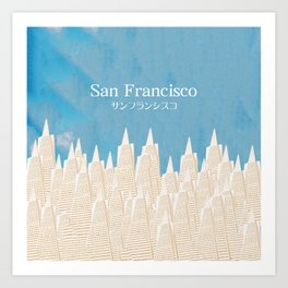 San Francisco TA Art Print