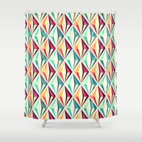 diamonds Shower Curtains featuring Diamonds by VessDSign