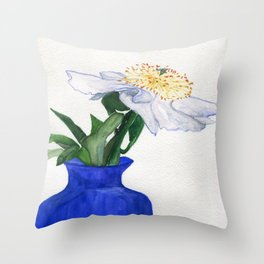 Unassuming Beauty Throw Pillow