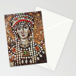 Byzantine Empress Saint Theodora of the Roman Empire Stationery Cards