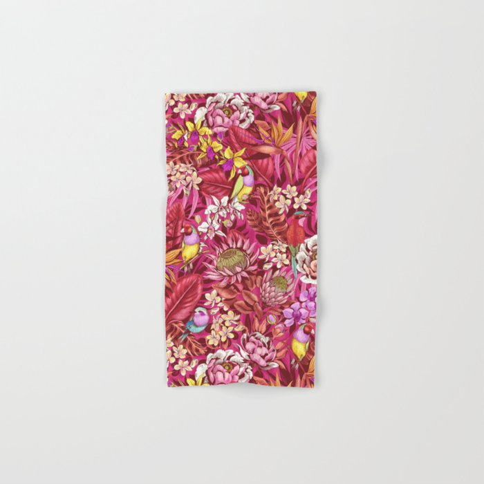 Stand out! (sunset flame) Hand & Bath Towel
