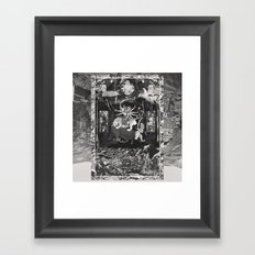 The Void Tigers' Last Smiling Crawl Towards A Long Dead God Framed Art Print