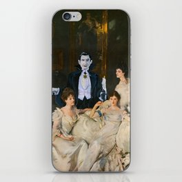 Dracula and the Wyndham Brides iPhone Skin