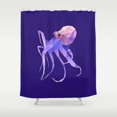 Octopus. Shower Curtain