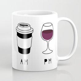 Coffee and Wine Coffee Mug