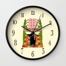 Welcome!! Wall Clock
