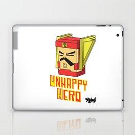unhappy hero Laptop & iPad Skin