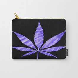 Weed : High Times Purple Blue Carry-All Pouch