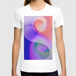 delicate colors -201- T-shirt