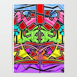 Abstract Arrows Poster