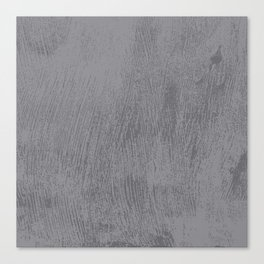 Textured Gray Canvas Print