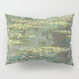 Water Lily Pond Claude Monet Pillow Sham