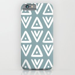Boho Arrows <Blue> iPhone Case