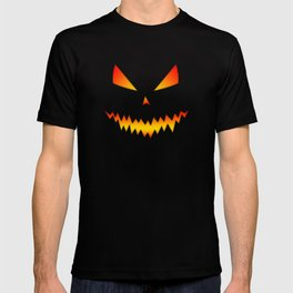 Cool scary Jack O'Lantern Halloween T-shirt