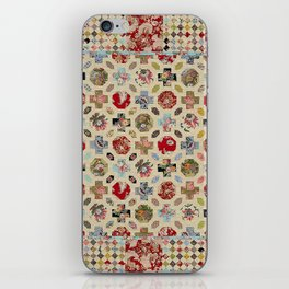 Levens Hall Quilt iPhone Skin