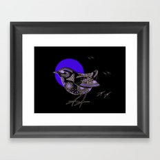 Bush Wren Xenicus Longipes Framed Art Print