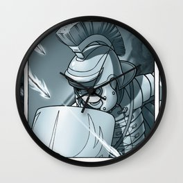 Lack Of Attack Wall Clock