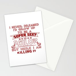 Super Sexy Sailor Stationery Cards