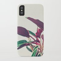 Prayer Plant II iPhone X Slim Case
