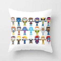90's 'X-men' Robotics Throw Pillow
