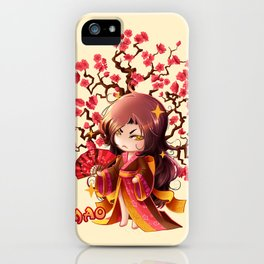 Sakura iPhone Case