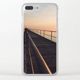 The Port Germein jetty is the longest in South Australia and, reputedly, the longest in the southern Clear iPhone Case