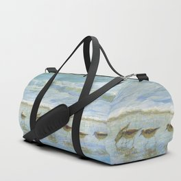 Sandpipers, A Day at the Beach Duffle Bag