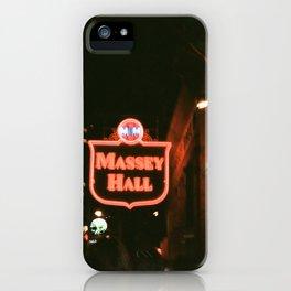 Massey iPhone Case