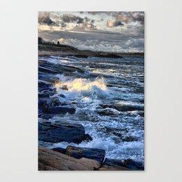 Newton's Rock, Narragansett, RI #24 Canvas Print
