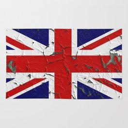 Grunge flag of United Kingdom Rug