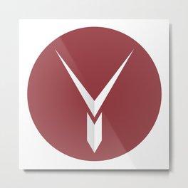 Y Factor - Know Why Metal Print