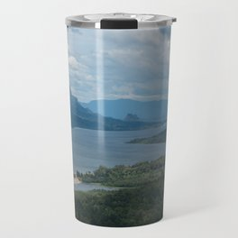 Columbia River Gorge From The Vista House Travel Mug