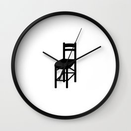 chairs Wall Clock
