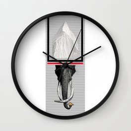 THE HOLY MOUNTAIN Wall Clock