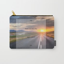 I Must Go (Road) Carry-All Pouch