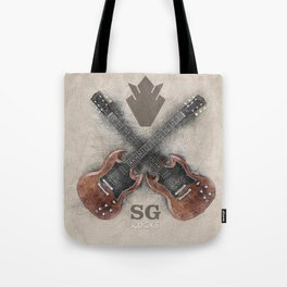 SG Rocks (Gibson SG) Tote Bag