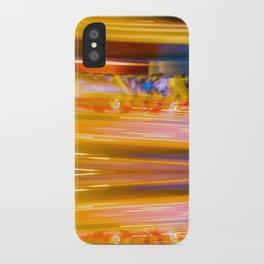 Night Light 131 - Roller Coaster iPhone Case