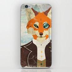 Foxy le dandy iPhone & iPod Skin