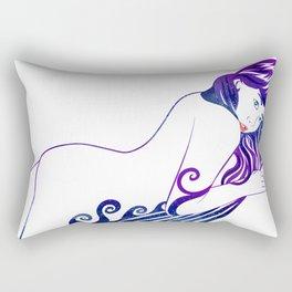 Water Nymph XII Rectangular Pillow