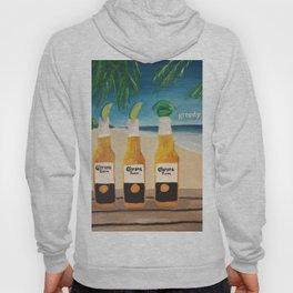 Greedy - Corona Ad Painting Hoody