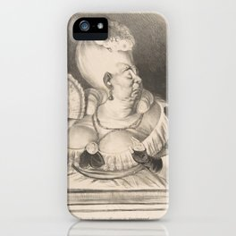 Mlle. Etienne-Joconde-Cunégonde-Bécassin de Constitutionnel...,May 8, 1834 iPhone Case