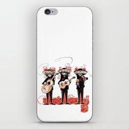 "Dios los muertos font ""Щ"" iPhone Skin"