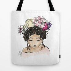 Flower Crown Clara Tote Bag