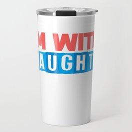 Christmas Cheeky Children Siblings Joke Gift Travel Mug