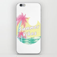 Summer Vibes iPhone & iPod Skin