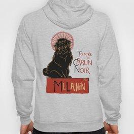 Le Carlin Noir (The Black Pug) Hoody